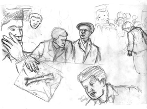 Various roughs.